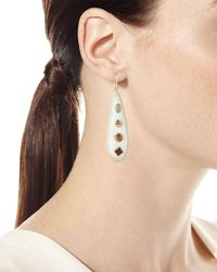 Ashley Pittman - Metallic Upendo Light Horn Teardrop Earrings - Lyst