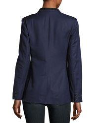 Joie - Blue Amit One-button Jacket - Lyst