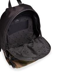 Moncler - Black New Romeo Camouflage Canvas & Nylon Backpack for Men - Lyst