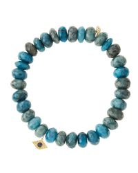 Sydney Evan - Blue Design Your Own Bracelet (made To Order) - Lyst