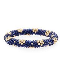 Meredith Frederick - Metallic Latika 14k Gold & Zircon Bracelet - Lyst