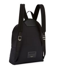 Givenchy - Black Shark-print Nylon Backpack - Lyst