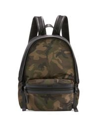 Moncler - Black New Romeo Camouflage Canvas & Nylon Backpack for Men - Lyst