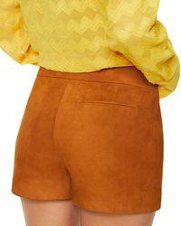 Ramy Brook Multicolor Adele Suede Shorts