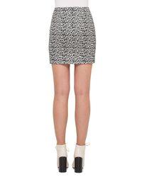 Akris | Black Ai Handbag-print Skirt | Lyst