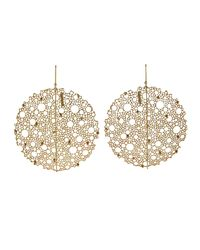 Ted Muehling - Metallic Yellow Gold Queen Anne's Lace Earrings - Lyst