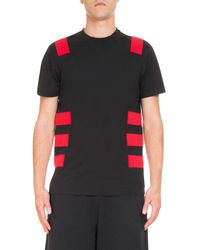 0c6781984f7b Lyst - Givenchy Contrast-band Cuban T-shirt in Black for Men
