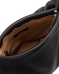 The Row - Black Small Wander Shoulder Bag - Lyst
