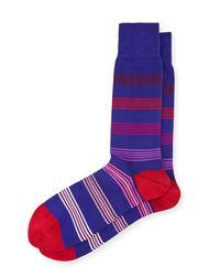 Paul Smith - Grad Multicolor Polka Dot Socks for Men - Lyst