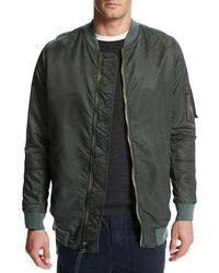 Vince - Green Elongated Aviator Jacket for Men - Lyst