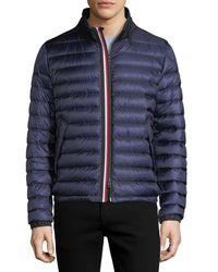 Moncler - Blue Arroux Puffer Jacket for Men - Lyst