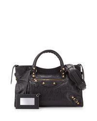 Balenciaga | Gray Giant 12 Golden City Bag | Lyst