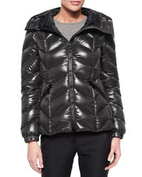 Moncler - Black Badete Hooded Down Shell Jacket - Lyst