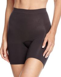 Spanx - Black Power Short - Lyst