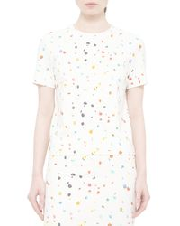 Akris Punto - Multicolor Short-sleeve Boulder-print Top - Lyst