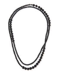 Eskandar - Gray Paixubao & Acai Seed Necklace - Lyst