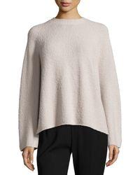 VINCE | Black Raglan-sleeve Merino Boxy Sweater | Lyst