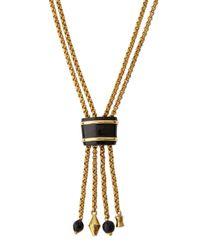 Ashley Pittman | Metallic Msanii Long Bronze Tassel Necklace | Lyst