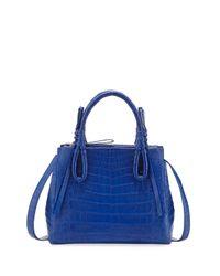 Nancy Gonzalez | Red Crocodile Medium Knotted Top-handle Bag | Lyst