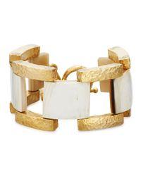 Ashley Pittman | Metallic Muziki Chunky Link Bracelet | Lyst