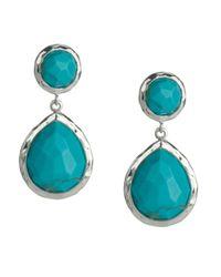 Ippolita | Blue 925 Rock Candy Snowman Earrings In Turquoise | Lyst