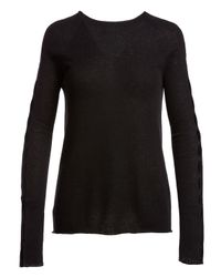 The Row - Black Shayna Long-sleeve Cashmere Sweater - Lyst