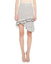 Altuzarra | White Tome Cherry-print Skirt | Lyst