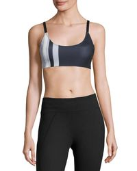 Onzie | Multicolor Graphic Elastic Band Low-impact Sports Bra | Lyst