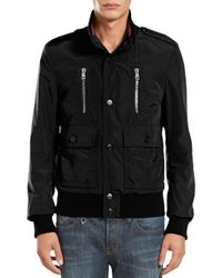 Gucci - Black Padded Iconic Bomber Jacket for Men - Lyst