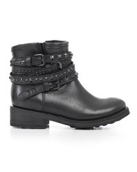 Ash - Black Biker Boots - Lyst