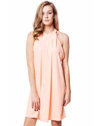 Bishop + Young - Pink Cameron Halter Dress - Lyst