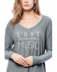 Good Hyouman - Gray Robin Music Tee - Lyst
