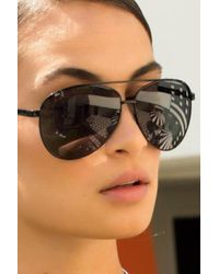 Quay - Viviene Sunglasses/ Black - Lyst