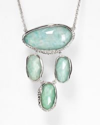 Alexis Bittar | Green Amazonite Pave Crystal Dangling Pendant Necklace 29 | Lyst