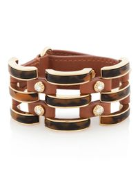 Henri Bendel - Brown The Ace Cage Cuff - Lyst