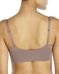 Yummie By Heather Thomson | Gray Simply Modern Fit Ava Plunge Bra | Lyst