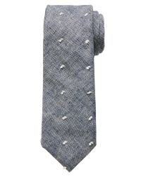 Banana Republic | Blue Fuzzy Dot Tie for Men | Lyst