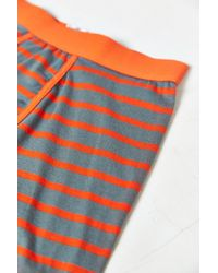 Urban Outfitters - Orange Striped Boxer Brief for Men - Lyst