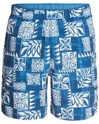 Quiksilver | Blue Waterman Collection Sunbird Volley Shorts for Men | Lyst