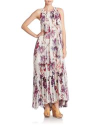 Free People | Multicolor Printed Maxi Dress | Lyst