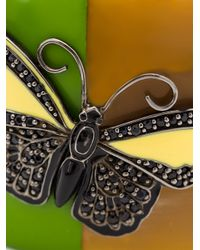 M.c.l  Matthew Campbell Laurenza | Brown Butterfly Motif Horn Bangle | Lyst