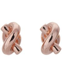 Kate Spade | Pink Sailor's Knot Stud Earrings | Lyst