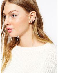 Oasis - Multicolor Pearl Ear Adorn Multipack Earrings - Lyst