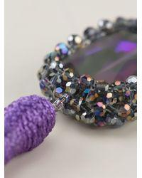 Night Market - Multicolor Tassel Earring - Lyst