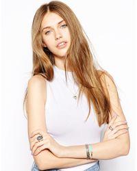 Zoe & Morgan - Metallic Zoe Morgan Exclusive For Asos Silver Mexican Heart Necklace - Lyst