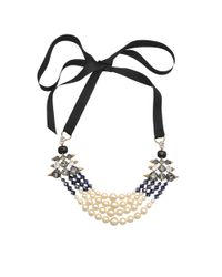 Helene Zubeldia - Black Opulent Necklace - Lyst