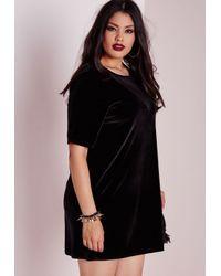 Black mesh dress plus size