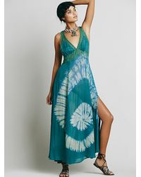 Free People - Green Intimately Womens True Love Maxi - Lyst