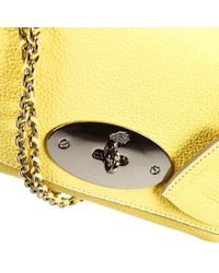 Mulberry - Yellow Clutch Lyly Leather Bag - Lyst