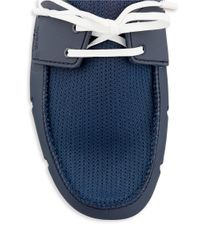 Swims | Blue Rubber Loafers for Men | Lyst